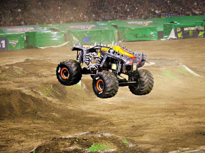monster jam at angels stadium