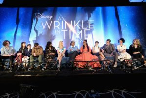 I got to attend the A Wrinkle In Time Press Conference!