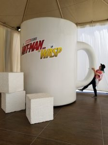 Ant Man and The Wasp Press Junket