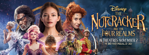 Get A First Look at Disney's 2018 holiday feature film THE NUTCRACKER AND THE FOUR REALMS #DisneysNutcracker