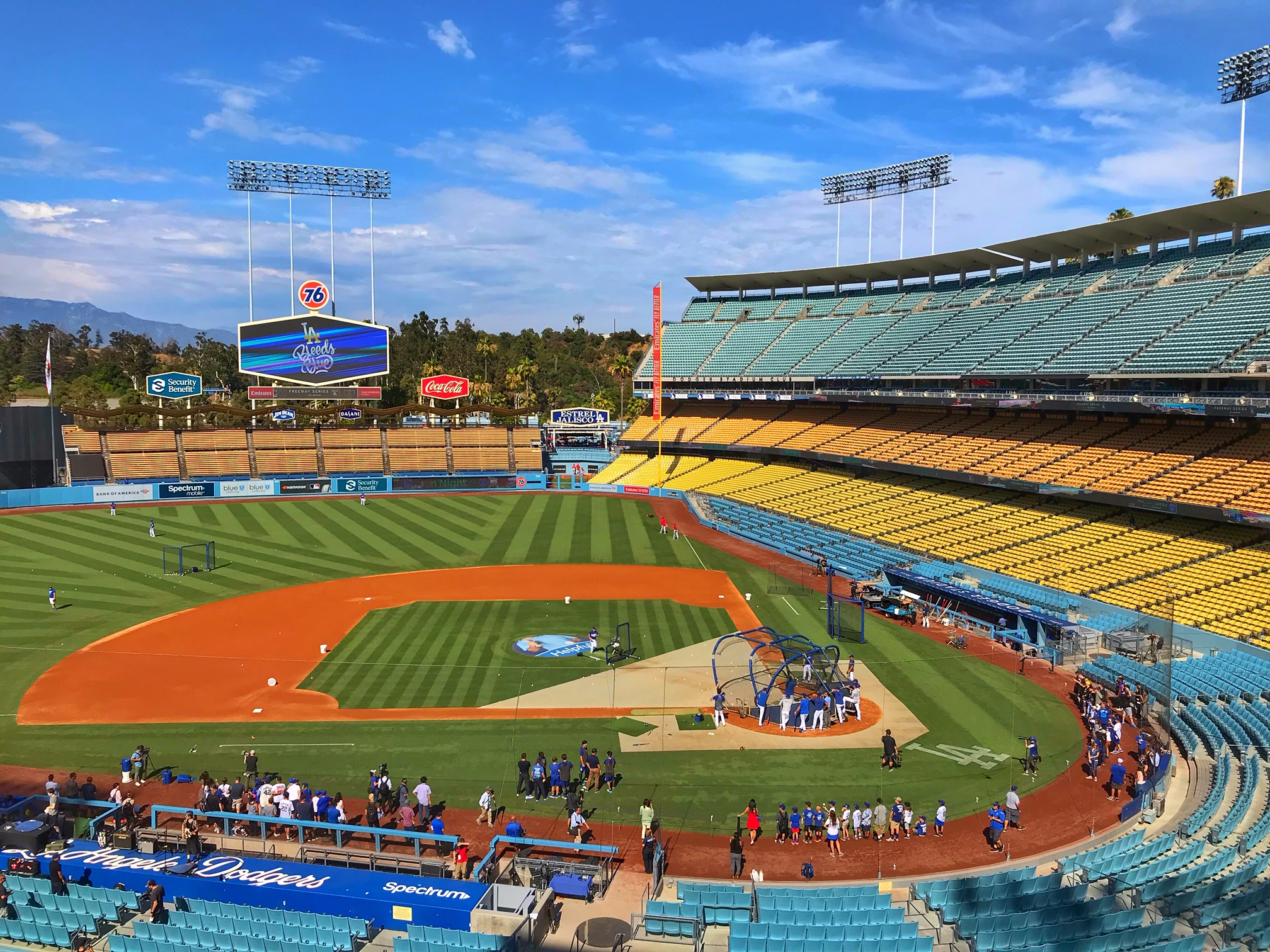 how to save money at dodgers stadium