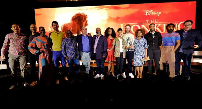 A Mighty ROAR at the Lion King Press Conference