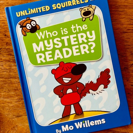 Unlimited Squirrels in Who is the Mystery Reader