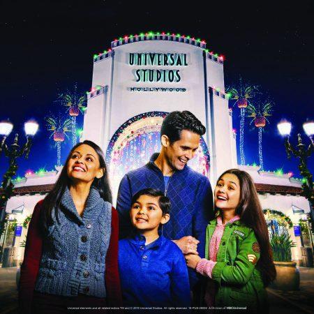 Christmas as Universal Studios Hollywood