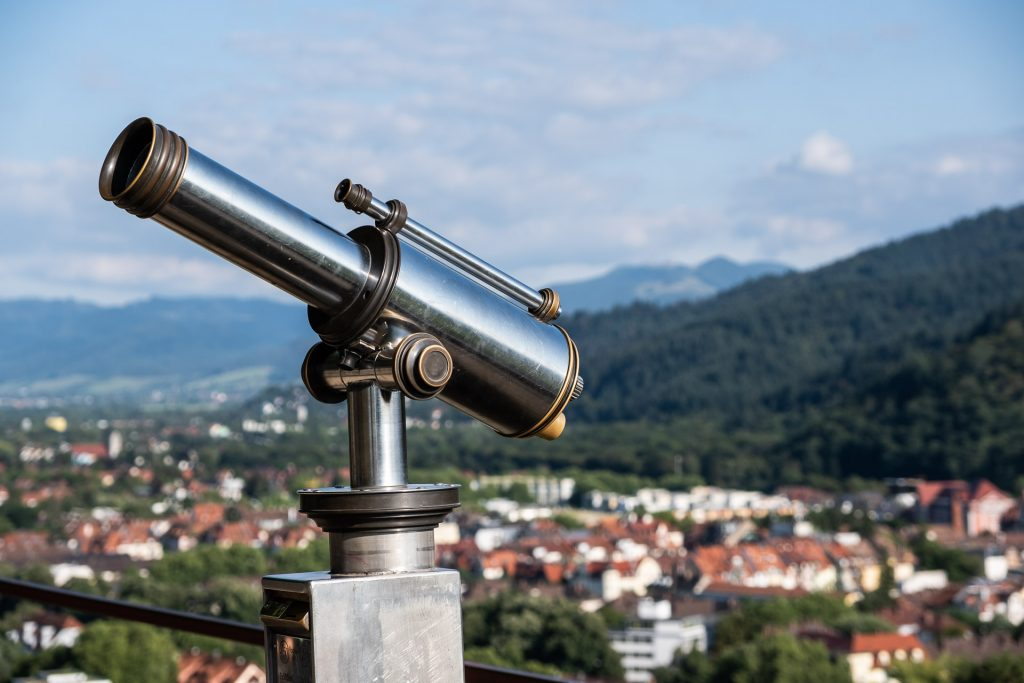 Freiburg im Breisgau , Tyskland Germany, Baden Württemberg, Kastaniegarten, view