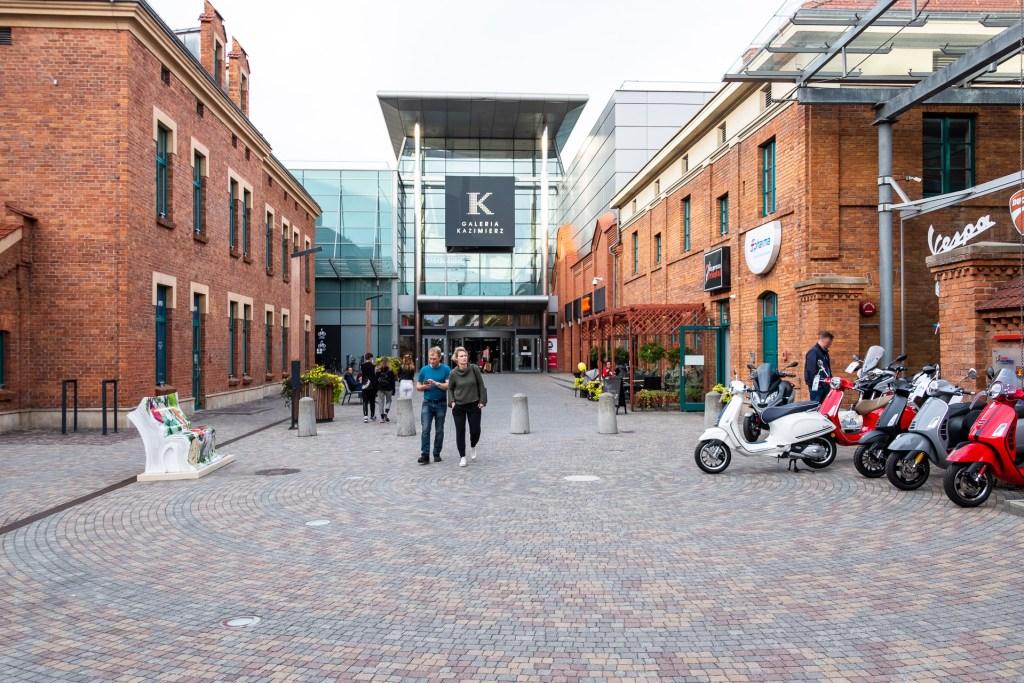 Krakow, Poland, street, mall, shopping, Galeria Kazimierz