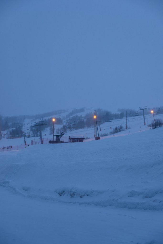 snow, winter, ski, ski slope, grey, cold