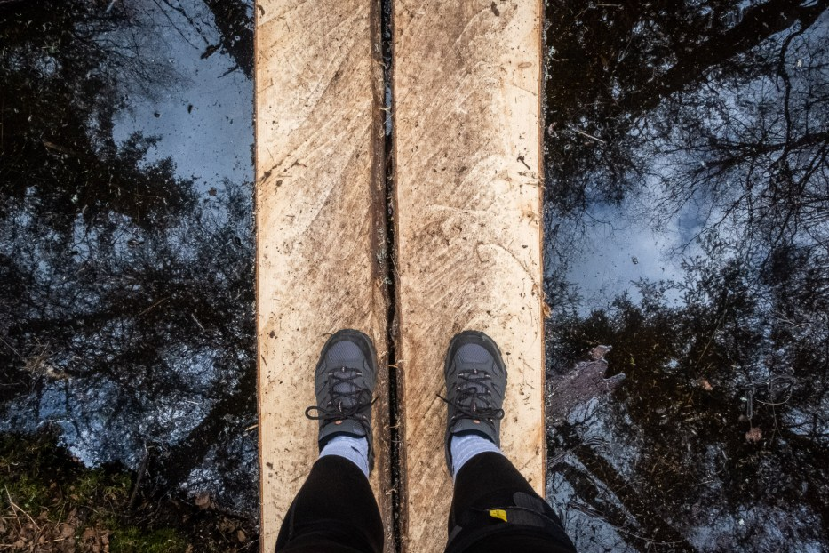 Oslo, Oslomarka, forest, trees, hike, hiking, trees, nature, local, travel, feet, reflection, Østmarka