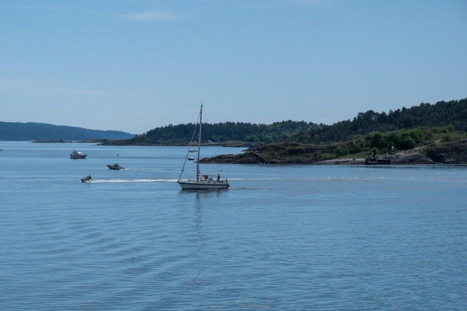 Oslo, Norway, Oslo fjord, island hopping, ferry, summer, sail boat, sea
