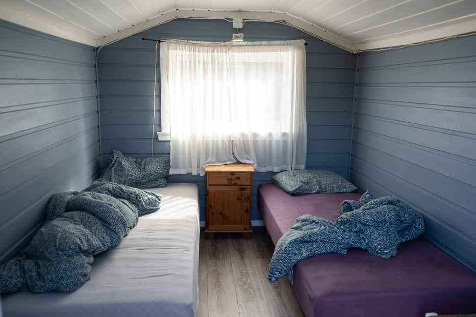 Small cabin at Verdens Ende Camping in Tjøme Norway