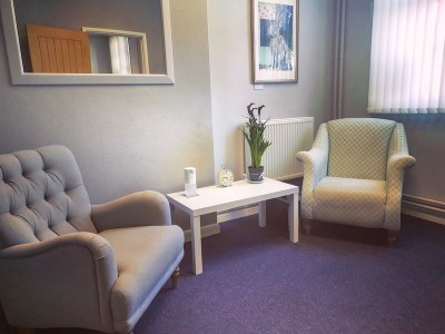 Treatment Room 1 for Laser Hair Removal