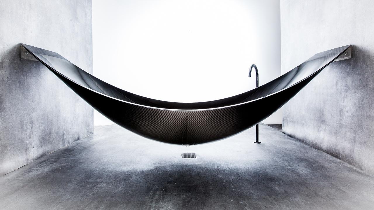 Desire This Vessel A Hammock Style Bathtub By Splinter