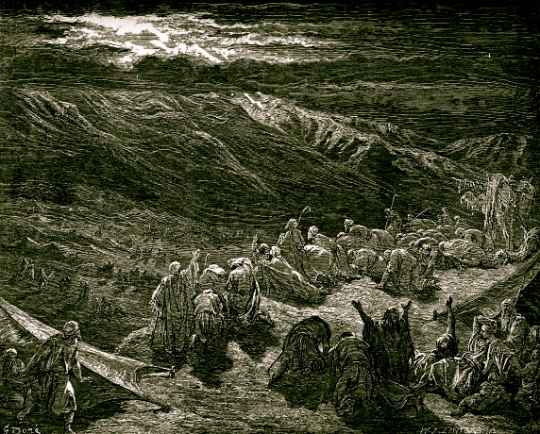 The Giving of the Law at Mount Sinai