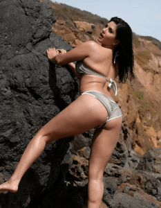 Sunny Leone Hot in Bikini at Beach