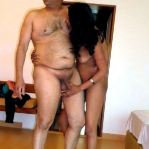 desi girl with old man