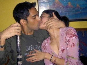 sexy desi indian couple best lip locking leaked pic