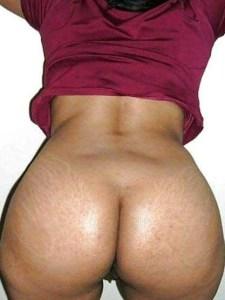 Desi Aunty huge curvy ass nude pic