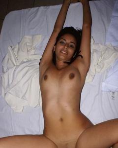slim desi babe naked