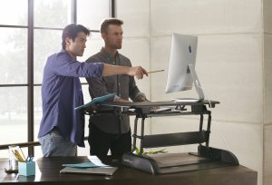 varidesk adjustable standing desk reviews