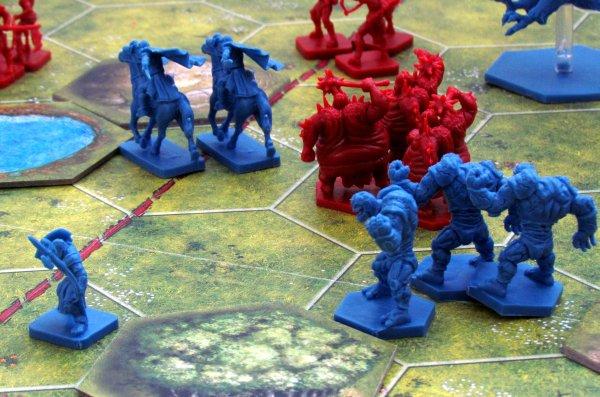 Battlelore: Second Edition - rozehraná hra