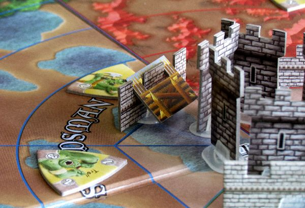 Castle Panic - rozehraná hra