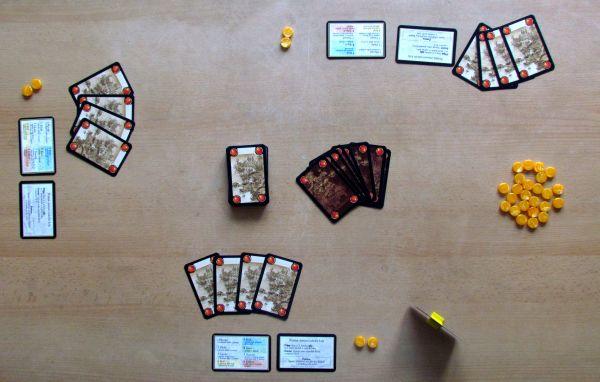 Citadela - připravená hra