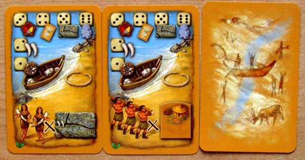 Doba kamenná: Stylově k cíli - karty