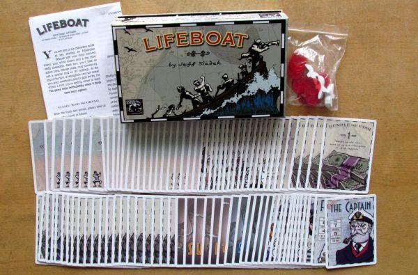 Lifeboat - balení