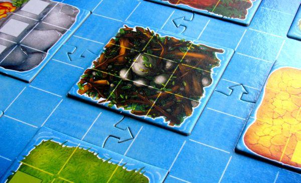 Okavango - připravená hra