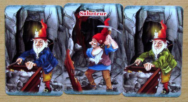 Sabotér - karty