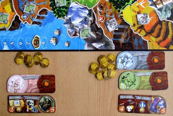 Small World - rozehraná hra