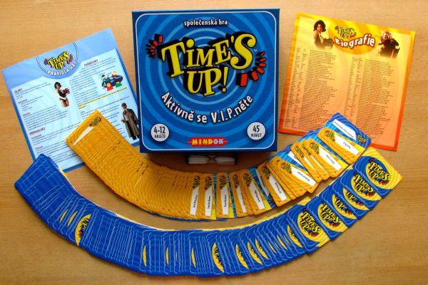 Time's Up - balení