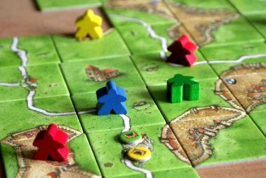 Carcassonne: Tunel - rozehraná hra