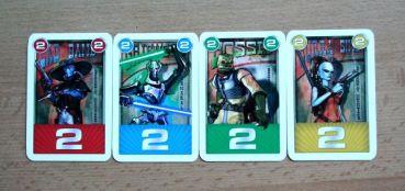 Star Wars Rocard - karty
