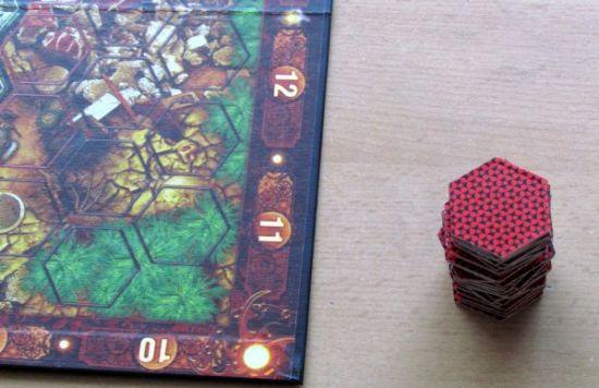 Neuroshima Hex - připravená hra