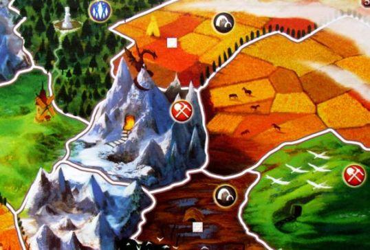 Small World - herní plán