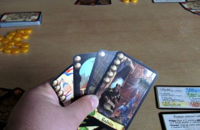 Citadela - rozehraná hra