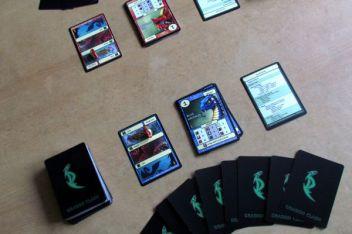 Dragon Clash - připravená hra