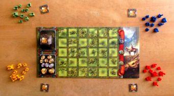 Království - připravená hra
