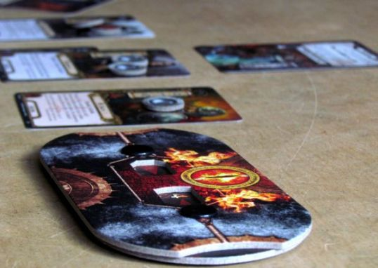 Pán prstenů: Karetní hra - rozehraná hra