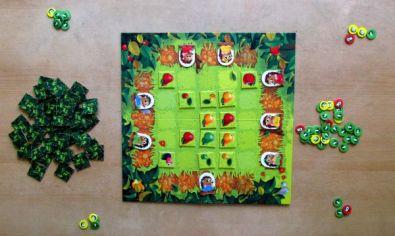 Ježci - rozehraná hra