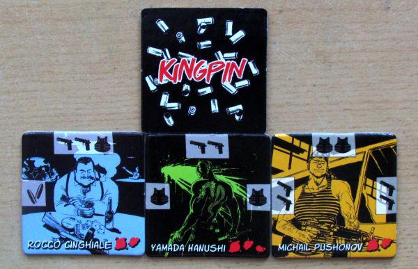 Kingpin - žetony
