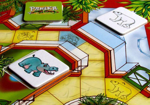 Panika v ZOO - rozehraná hra