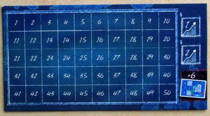 Blueprints - bodovací deska