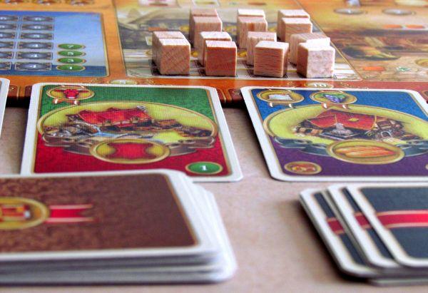 Craftsmen - připravená hra