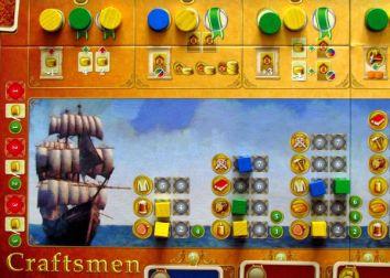 Craftsmen - rozehraná hra