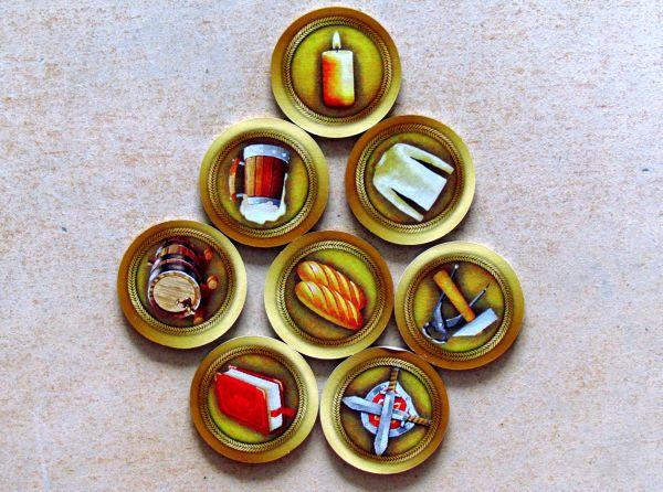 Craftsmen - žetony