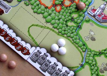 Valdojka - připravená hra