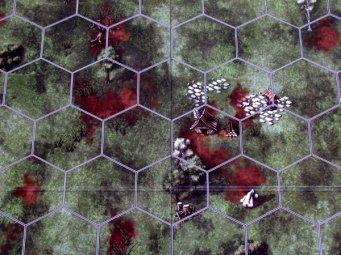 Spells of Doom - detail herního plánu