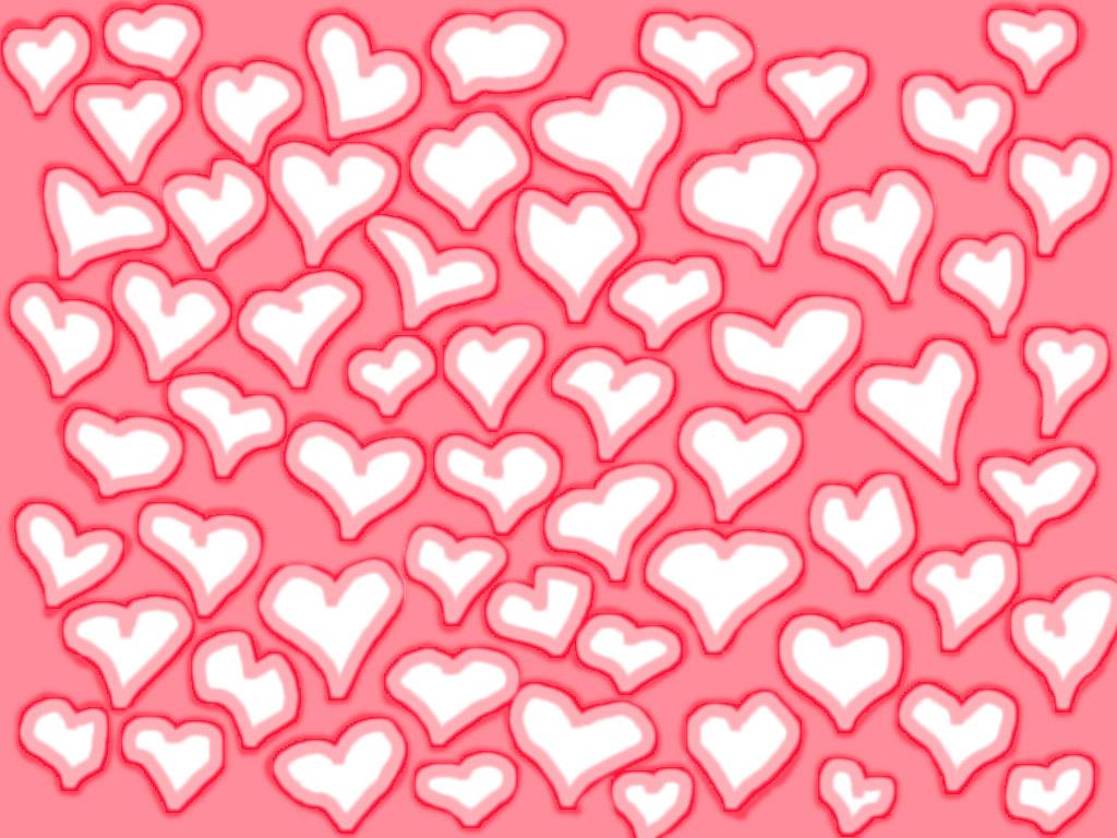 Lots o' Hearts wallpaper